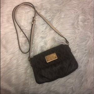 Authentic Michael Kors Leather crossbody